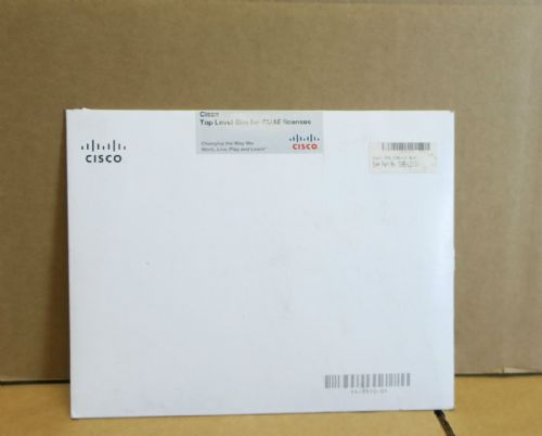 NEW - Cisco CUAW-LIC Top Level Sku For CUAE Licenses Pack